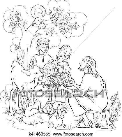 coloring book ~ Phenomenal Childrens Coloring Bible Book Jesus ... | 470x419