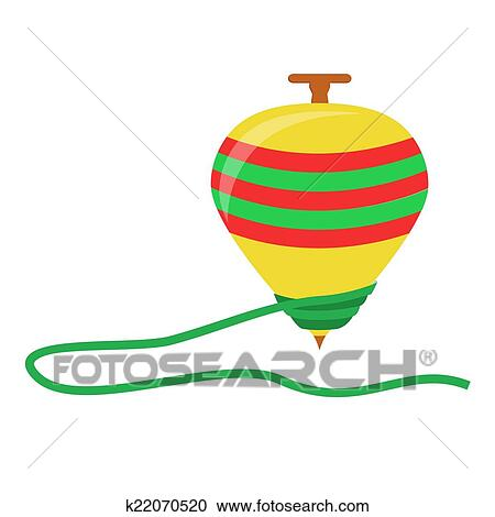 clipart of spinning top k22070520 search clip art illustration rh fotosearch com top clipart clothes top cat clipart