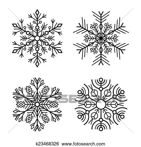 snow flake icons