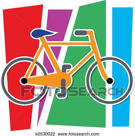 Colorito Bicicletta Disegno