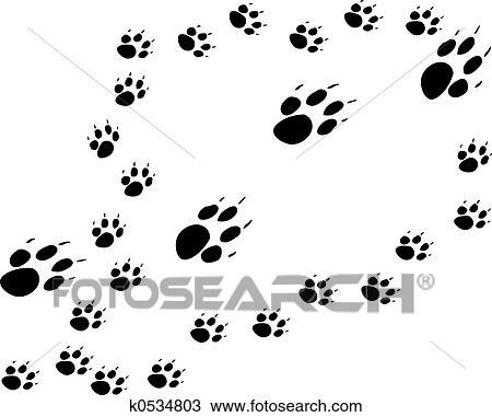 desenho mãe e filhotes cachorro k0534803 busca de imagens clip