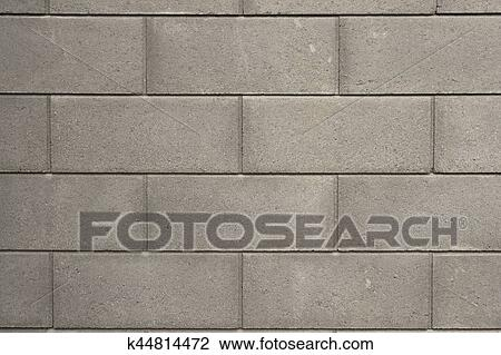 Modern Concrete Brick Wall Texture Stock Image K44814472 Fotosearch