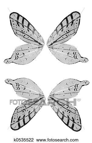 Aile De Papillon Dessin clipart - papillon, ailes k0535522 - recherchez des cliparts, des