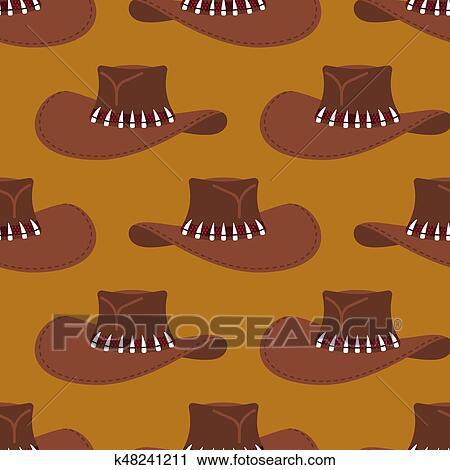 23b4c064cc8d3 Clipart - sombrero vaquero