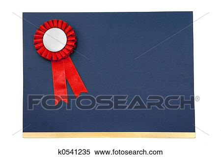 stock image of certificate and award ribbons badge k0541235 search