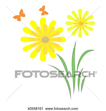 Clipart Frühling Kleingarten Kunst K0558161 Suche Clip Art