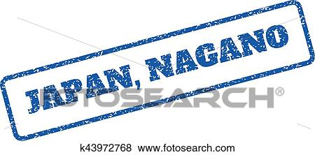 clip art of japan nagano rubber stamp k43972768 search clipart