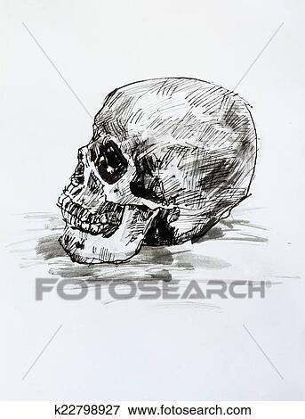 Ilustrace Z Mnoziny Kresleni Temny I Kdy Beloba O Lidska Bytost