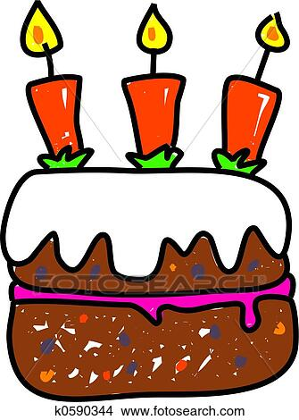 drawings of birthday cake k0590344 search clip art illustrations