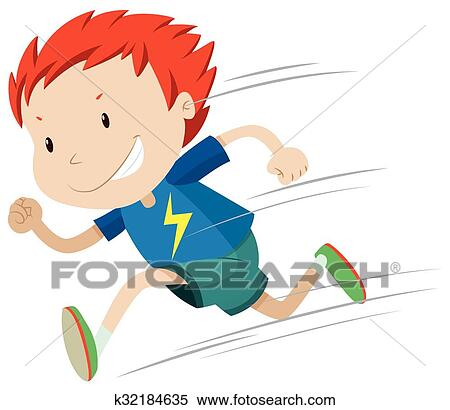 clipart of boy running very fast k32184635 search clip art rh fotosearch com boy running clipart black and white boy running clip art black and white