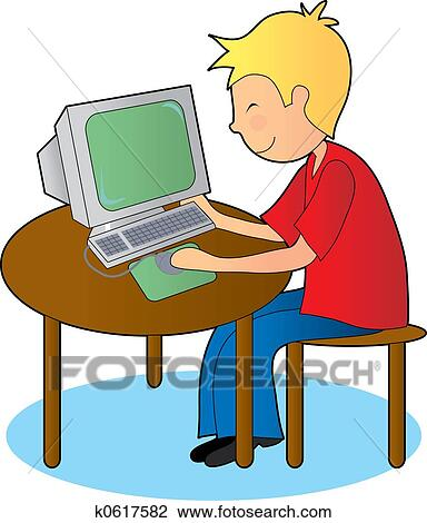 clip art of student studying k0617582 search clipart illustration rh fotosearch com student studying clipart student studying clipart