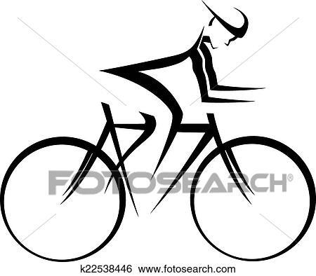 Bicicletta Piattaforma Girevole Accento Clip Art