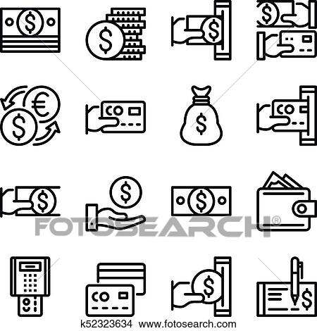 Money Line Icons Set 48x48 Px Modern Graphic Design Concepts Simple Outline Elements Collection Pixel Perfect Vector Line Icons Clipart K52323634 Fotosearch,Teenage Girl Latest Bridal Lehenga Designs 2020 For Wedding