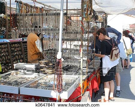Stock Photography of street vendors k0647841 - Search ...