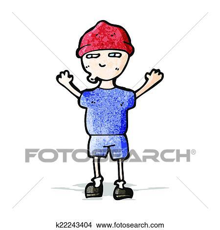 boy wearing big hat clipart - Clip Art Library