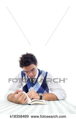 Banque De Photographies Homme Dans Chemise Et Pull Over A