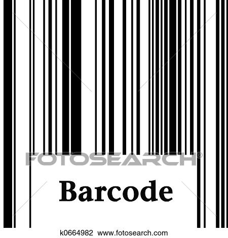 clip art of barcode k0664982 search clipart illustration posters
