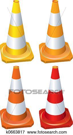 arquivos de ilustração cones k0663817 busca de clip art