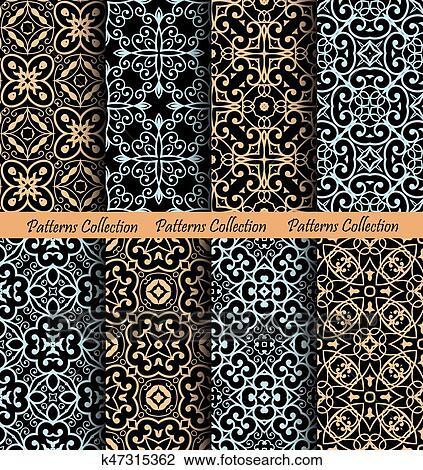 Islamic Pattern Backgrounds Luxury Drawing K47315362