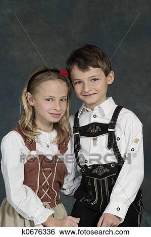 Costume per Bambini Tedesca