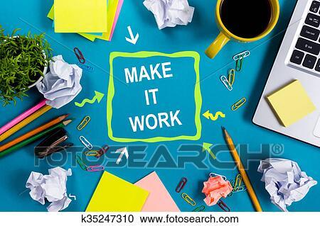 Banques De Photographies Faire Il Work Bureau Table Bureau