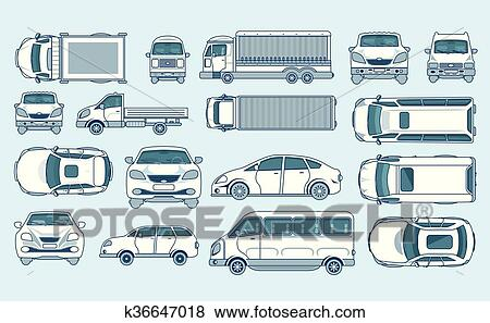 clipart voiture jaune hayon camion livraison lumi re camion caravane minibus sedan. Black Bedroom Furniture Sets. Home Design Ideas