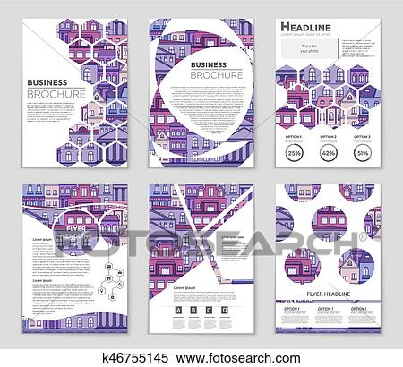 Abstract vector layout background set  For art template design, list, front  page, mockup brochure theme style, banner, idea, cover, booklet, print,