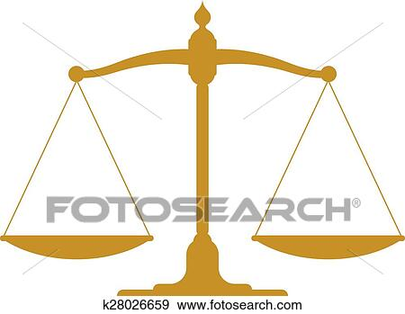 clip art of vintage scale in balance k28026659 search clipart rh fotosearch com  weighing scale balance clipart