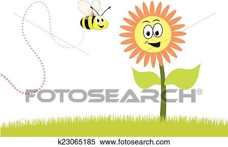 Clipart Frühling K23065185 Suche Clip Art Illustration