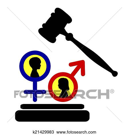 Drawing Of Equal Rights For Boys And Girls K21429983 Search