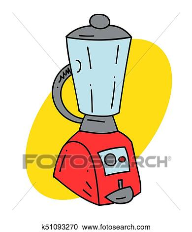 Kitchen Blender Clipart K51093270 Fotosearch