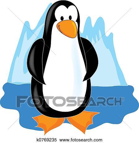ペンギン イラスト K0769235 Fotosearch