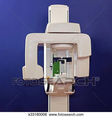 歯医者の, x 光線機械 写真館、イメージ館 | k33180008 | Fotosearch