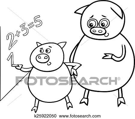 Ausgezeichnet Grund Schwein Tag Färbung Seiten Zeitgenössisch ...
