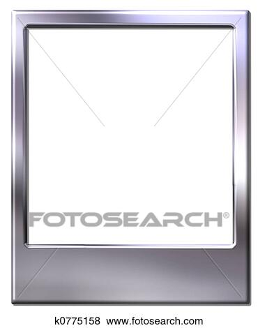 Stock Illustration Of Polaroid Picture Frame K0775158 Search Eps