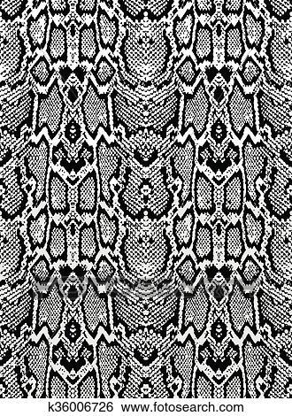 Clip art serpente pitone pelle texture seamless for Serpente nero italiano