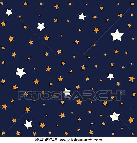 النجوم إلى داخل الليل Sky الخلفية تصوير Clip Art K64849748 Fotosearch