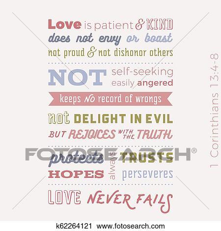 Bíblico Frase De 1 Corinthians 13 8 Amor Nunca