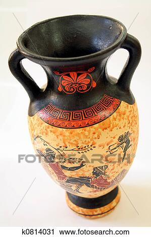 Stock Photography Of Ancient Greek Vase K0814031 Search Stock