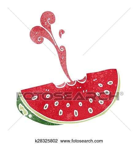 Cartoon Watermelon Drawing Images