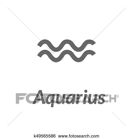 Stock Images Of The Water Bearer Aquarius Sing Star Constellation