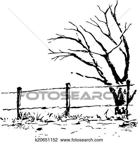 Clipart Vecteur Automne Arbre Illustration K20651152