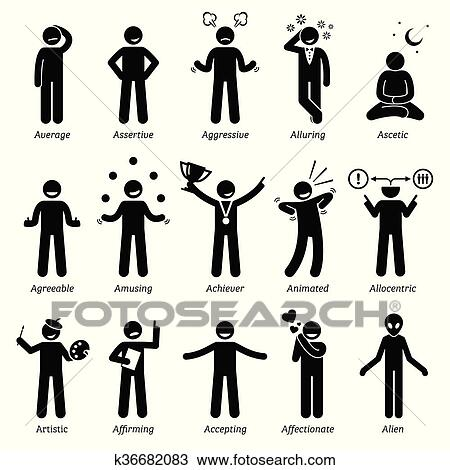 clipart of neutral character traits with a k36682083 search clip