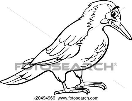 Clip Art - yaffle, vogel, tier, färbung, seite k20494966 - Suche ...