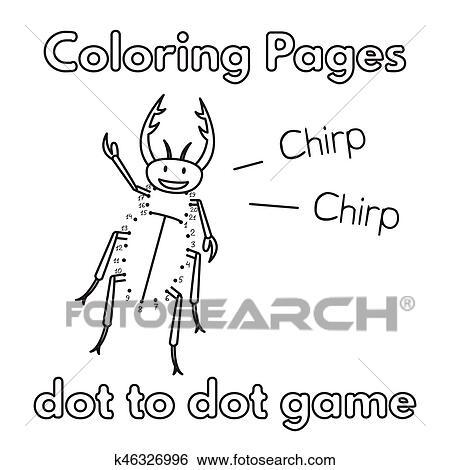 Clip Art - caricatura, escarabajo, libro colorear k46326996 - Buscar ...
