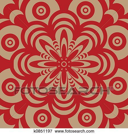 Super Jaren '60, behang, motieven Stock Illustraties | k0851197 | Fotosearch YN-72