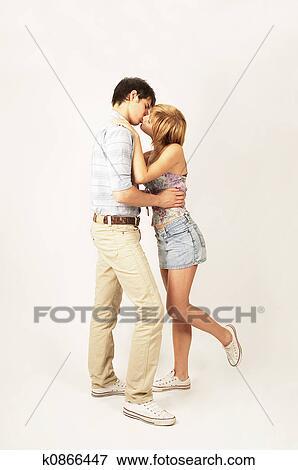 Nero bianco lesbiche baci