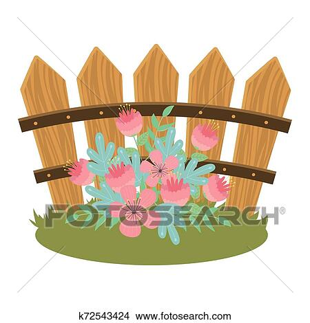 Free Flower Fence Cliparts, Download Free Clip Art, Free Clip Art on Clipart  Library