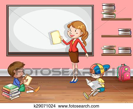 Teaching Clipart K29071024 Fotosearch