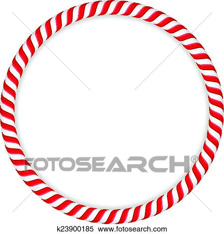 clipart of candy cane circle k23900185 search clip art rh fotosearch com candy cane border clipart free